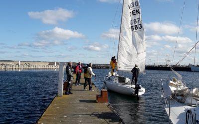 Sejlerskolens afslutningstur til Tunø søndag d. 4/10 kl 10