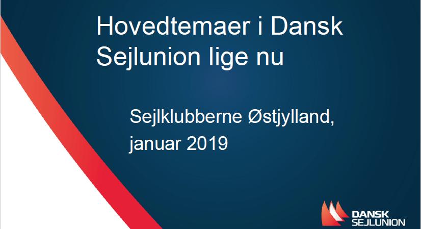Sejlklubberne i Østjylland 2019