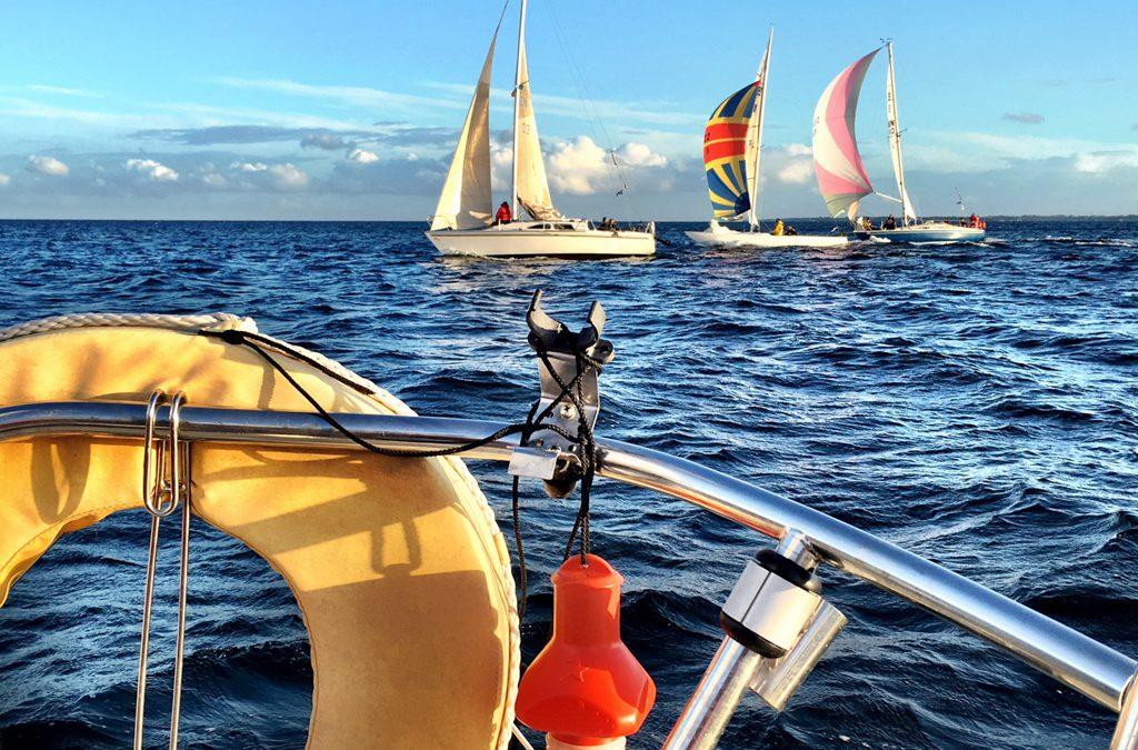 Afslutningstur med sejlerskolen til Tunø