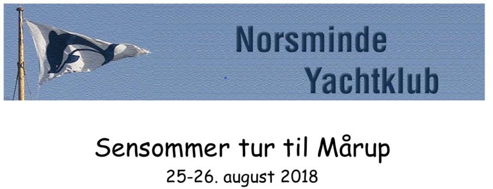 hilsen fra Norsminde Yachtklub
