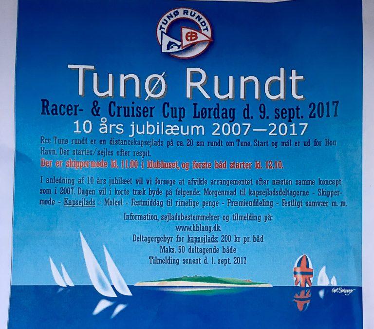 Tunø Rundt – Jubilæumssejlads
