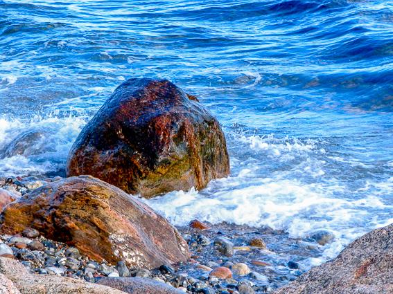 Advarsel om sten